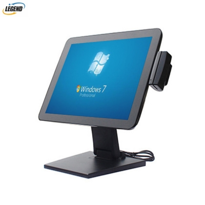 5-Wire resistive touch POS monitor 15 inch touch screen pos monitor