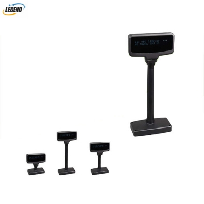 VFD customer display Electronic 2 Lines VFD Pole Display Pole Adjustable Customer Display