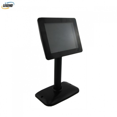 8 Inch wide Factory Price Electronic 2 Lines VFD Display Pole Customer Display for Supermarket POS System